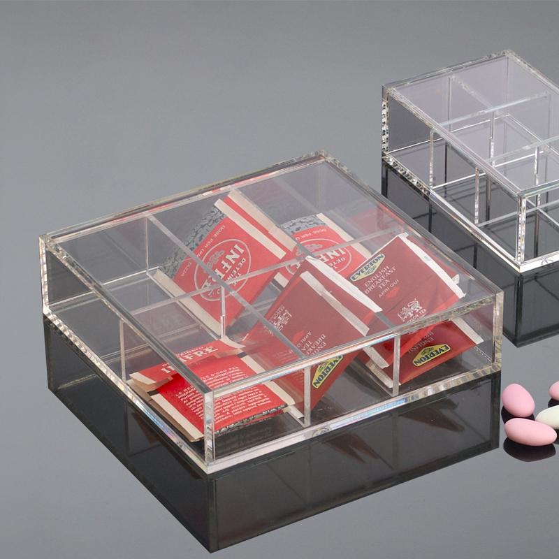 Scatola porta the plexiglass on the table sheratonn - Scatola porta the ...