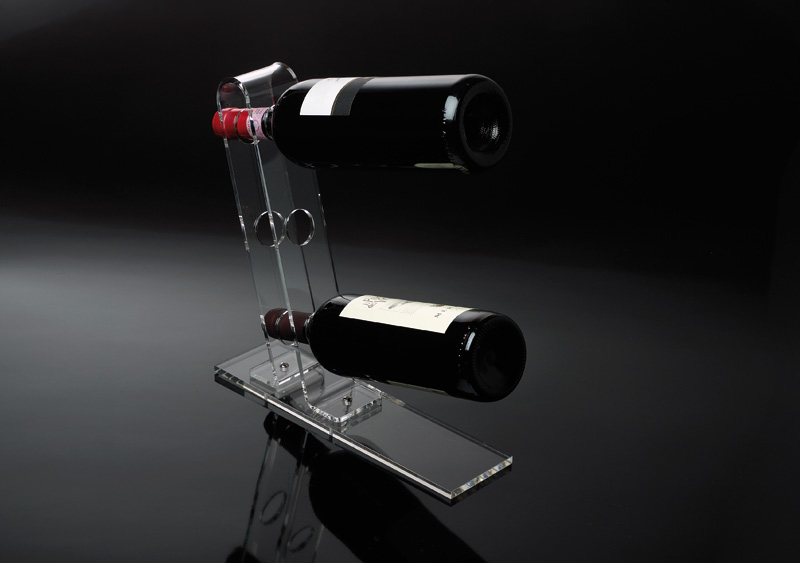 Porta bottiglie da tavolo plexiglass on the table sheratonn - Porta bandiere da tavolo ...