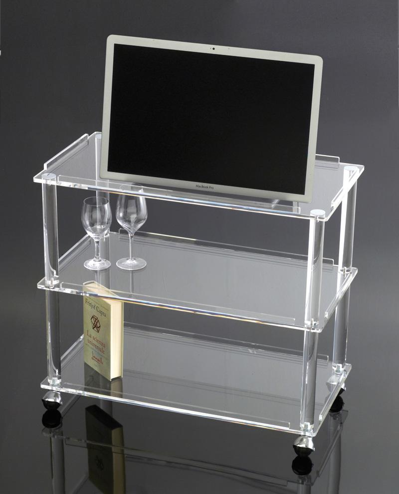 Carrello tv decorare la tua casa - Porta tv plexiglass ...
