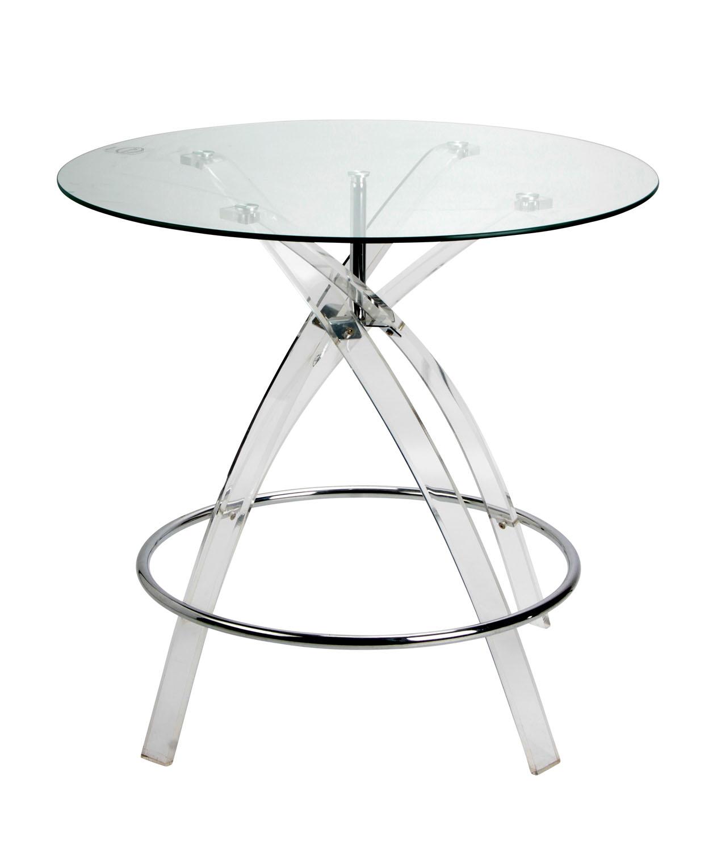 Tavolo tondo | Vetro temperato e Plexiglass | Home Decor » Sheratonn