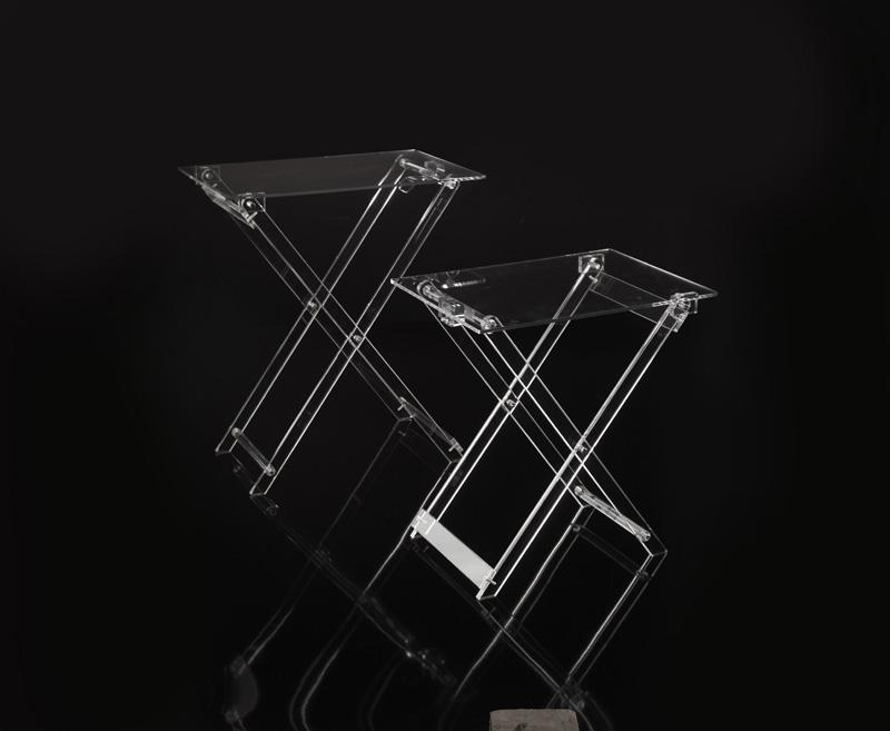 offerte tavoli plexiglass : Tavolino richiudibile h 65 cm Plexiglass Home Decor ? Sheratonn