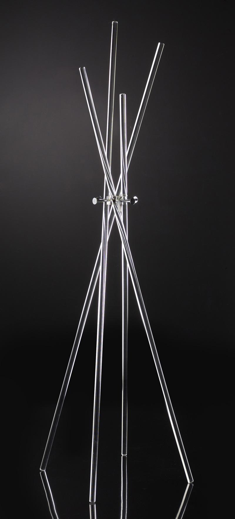 Piantana porta abiti plexiglass e metallo home decor for Piantana appendiabiti leroy merlin